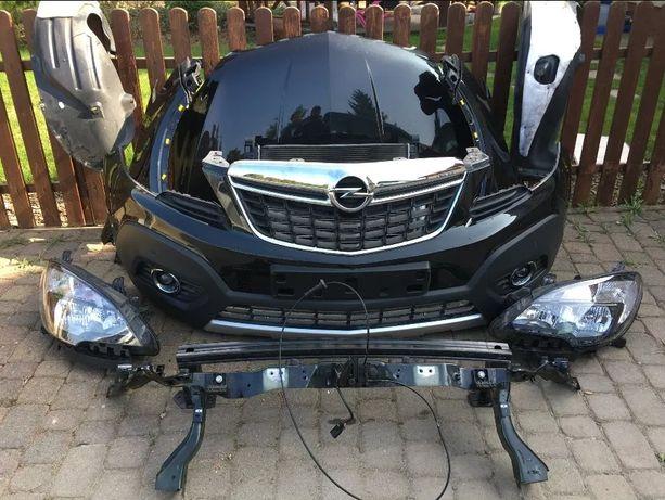 Opel Mokka капот бампер фара крыло передняя панель телевизор усилитель