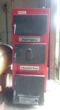 Piec Rakoczy Popter D + osprzętowanie(boiler,sterownik,dmuchawa,pompa)
