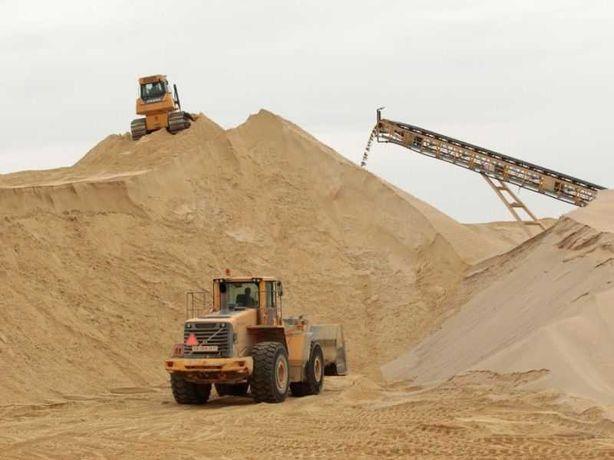 Песок речной 123грн/т