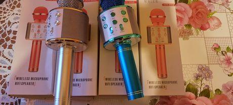 Mikrofon Karaoke z Bluetooth Wbudowany akumulator tylko 35zł