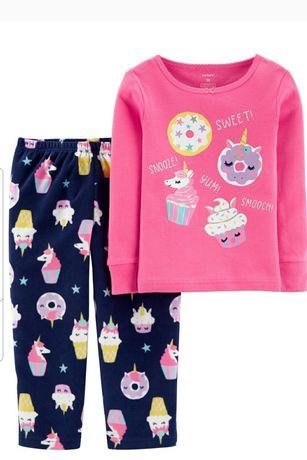 Хлопковые  флисовые пижамы George Carter's