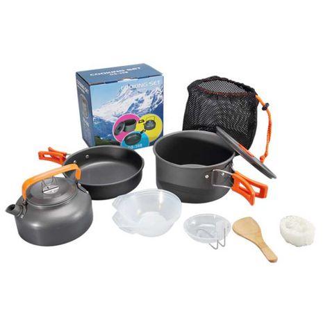 Набор туристической посуды HALIN Orange DS-308