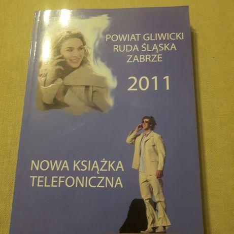 Książka telefoniczna Gliwice Zabrze Ruda Śląska 2011.