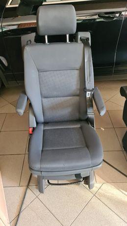 Volkswagen t5 multivan fotel obrotowy antracyt