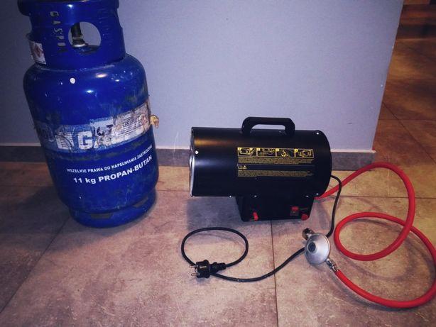 Nagrzewnica gazawa 15kW+butla propan-butan