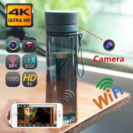 Garrafa de água com camera wi-fi com visualização em telemovel Android