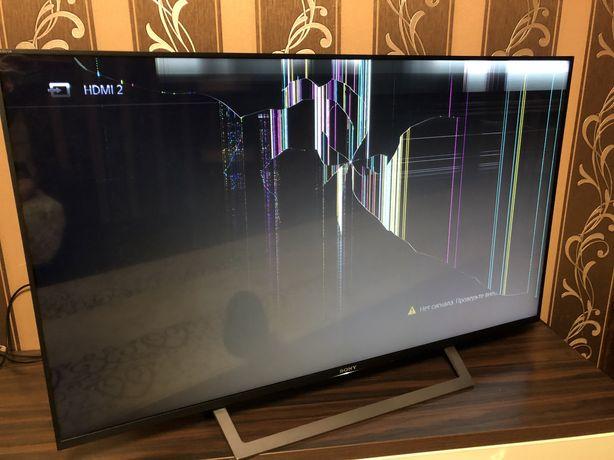 Телевизор Sony/на запчасти/49 диагональ/