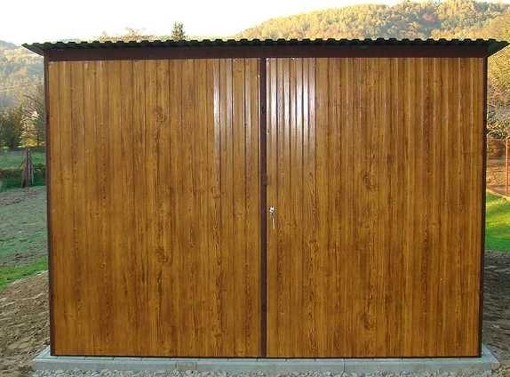 Garaże Drewnopodobne Garaże Akrylowe Blaszaki Różne Wymiary