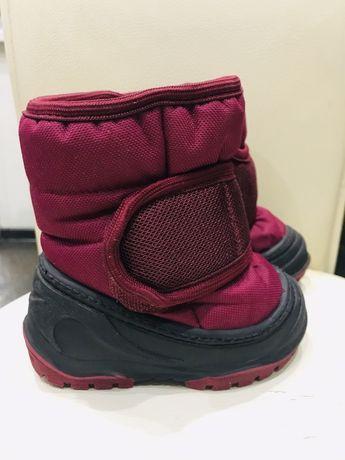 Детские зимние сапожки/ботинки Alisa line, на овчине 20-21