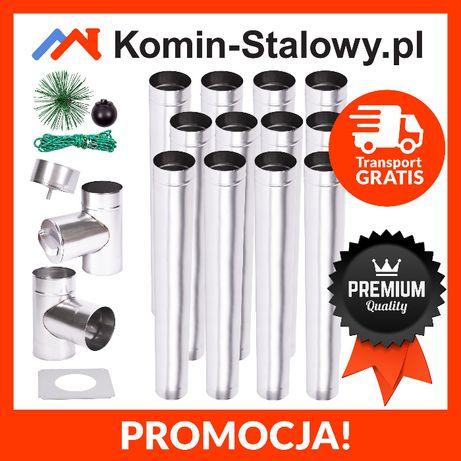 Wkład Kominowy Okrągły do Komina Fi150/12m/0,8mm - Kwaso-żaroodporny