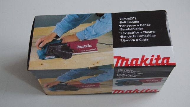Szlifierka taśmowa elektryczna 650W Makita 9910 nowa