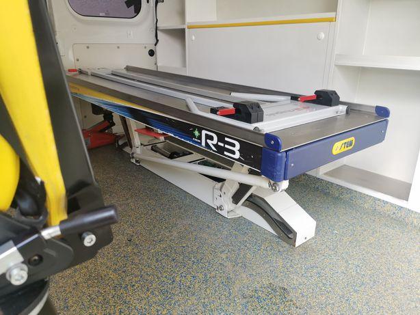 Podstawa pneumatyczna noszy łóżka ambulans stem emergency system r3