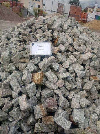 Kostka granitowa łamana kruszywa granit bruk
