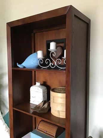 livreiro, estante,  prateleiras, aparador, indiana, rustico