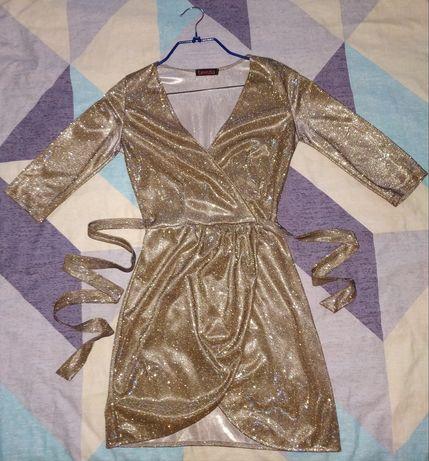 Платье berezka золото
