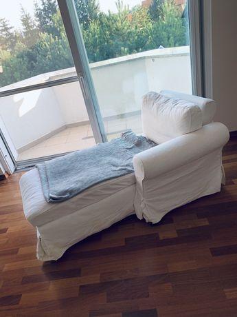 Szezlong fotel biały GRÖNLID IKEA