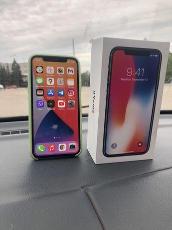 iphone X  neverlock  64gb