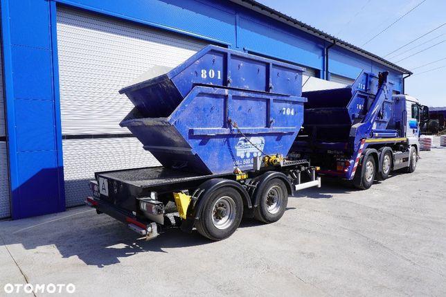 Huffermann HTM 14.40 P  tandem kontener mulda KP7 Import Niemcy