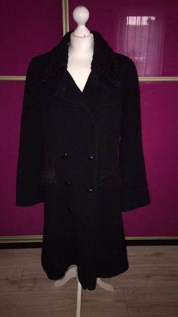 Czarny płaszcz l/xl