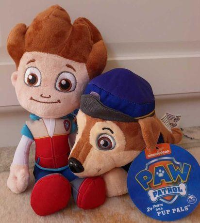 Maskotki Paw Psi Patrol zestaw Ryder i Chase, maskotka 2 szt. NOWE