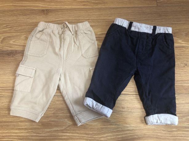 Spodnie NEXT 2 sztuki 68 cm