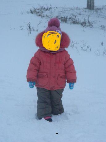 Продам зимний костюм данило куртка +штаны