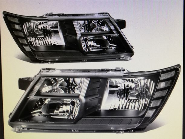 Dodge Journey Anglik 2011-16 reflektory czarne