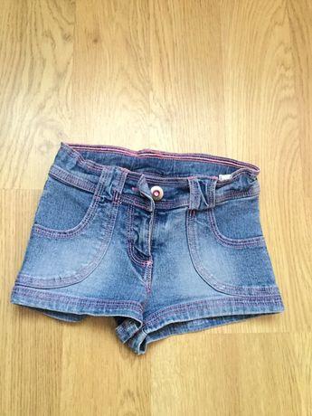 Детские джинсовые шорты 3-4 года