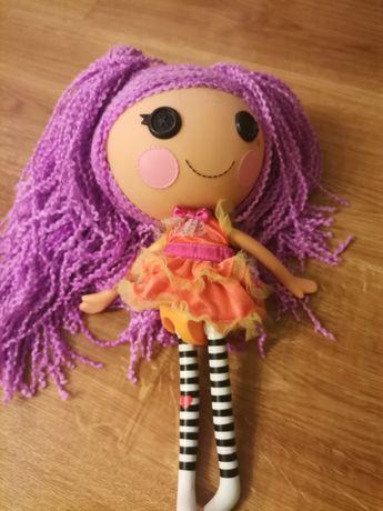 Lalka fioletowe włosy duża