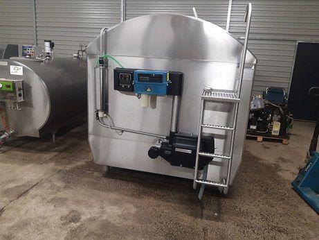 Zbiornik na mleko 6500L schładzalnik z oryginalną myjnią Alfa Laval