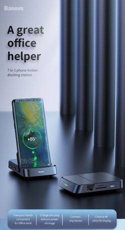 Stacja dokująca 4K do telefonów Samsung (S/Note) Huawei (P/Mate)