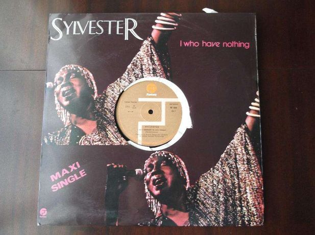 vinyl sylvester l who have Nothing, maxi single