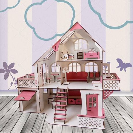 ХИТ ПРОДАЖ Кукольный домик лол LOL Ляльковий будинок, будиночок Барби