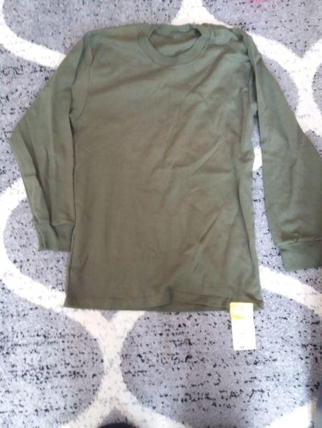 Koszulka z długimi rękawami kolor Khaki wzór 519 Mon bawełna 100%