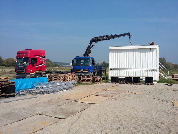 Transport HDS : Maszyn, kontenerów, materiałów budowlanych