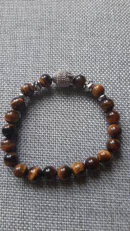 Bransolety z naturalnego kamienia buddyjskie 1 szt