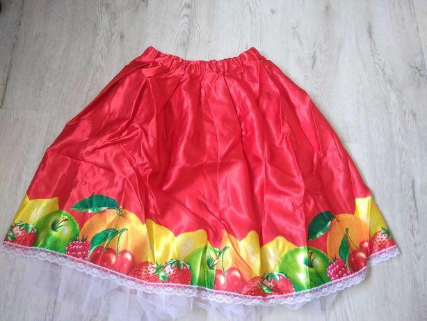 Spódnice z motywem owoców, kpl 8 szt.