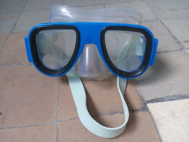маска очки для плавания детские