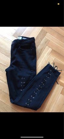 Spodnie ze sznurkiem