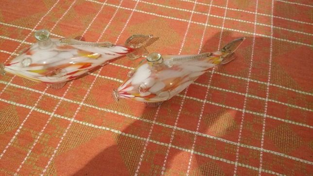 Стеклянные рыбки 100р