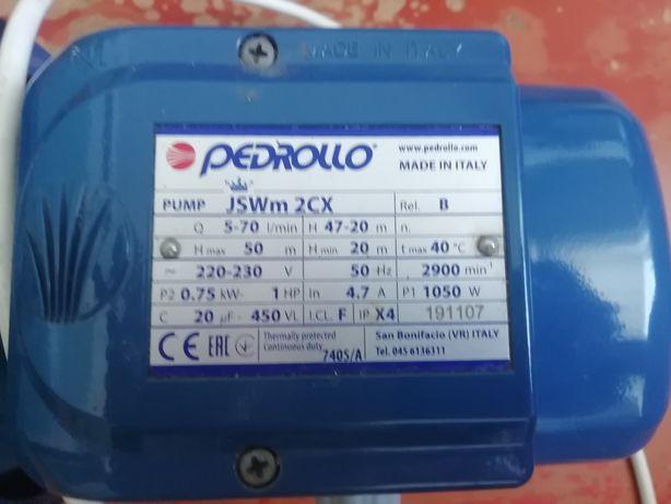 Поверхностный насос для насосной станции PEDROLLO JSWm 2СX 0,75 кВт