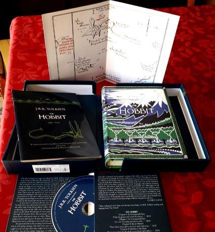 J R R Tolkien - The Hobbit Facsimile Edition - HarperCollins 2016 NOVO