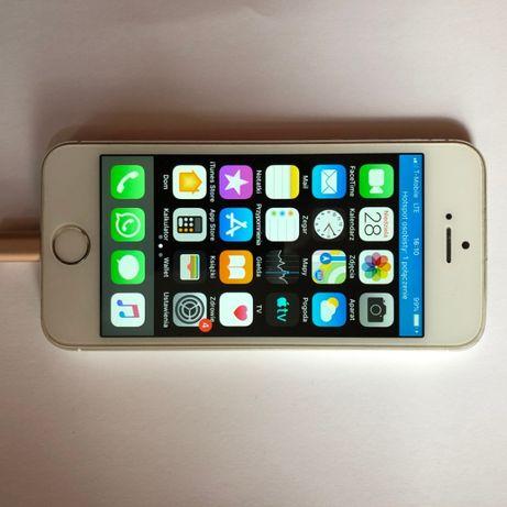Telefon iPhone biały 5s 16 GB