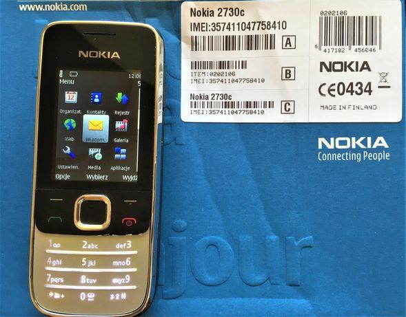Nokia 2730C - brak blokady Sim