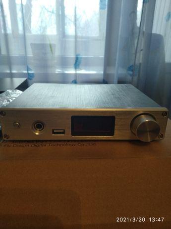 Усилитель с сетевым плейером FX-AUDIO D-802E