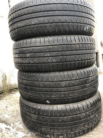 R18 255/60 шины бу зима Vredestein Quatrac5 резина комплект 18годов