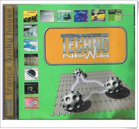 TECHNO NEWS vol. 2 Trance Funky House - płyta CD
