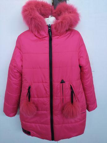 Новое зимнее пальто для девочки