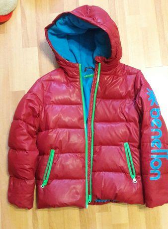 Курточка зимова пухова