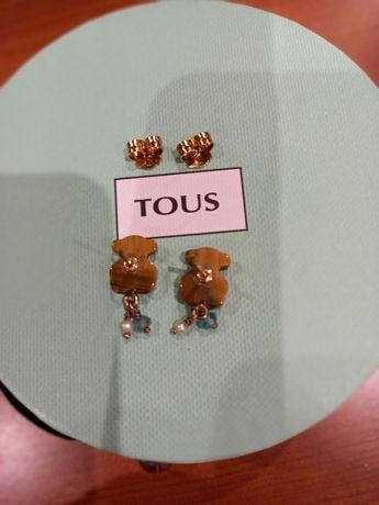Tous brincos- originais com pedrinhas semi preciosas